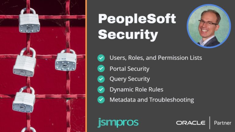 PeopleSoft Security